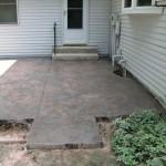concrete deck