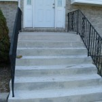 stairs and concrete steps