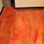 Colored Flooring and Decorative Cement