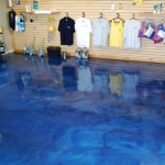 Boating Store and Decorative Cement Floor