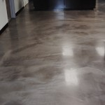 Concrete Flooring in Kitchen